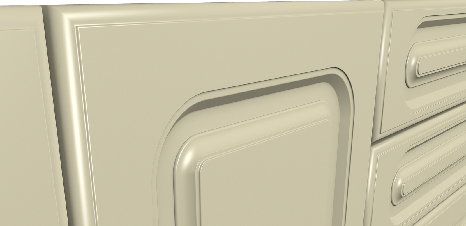 Fronturi MDF frezate - Colectia Clasic - G10R