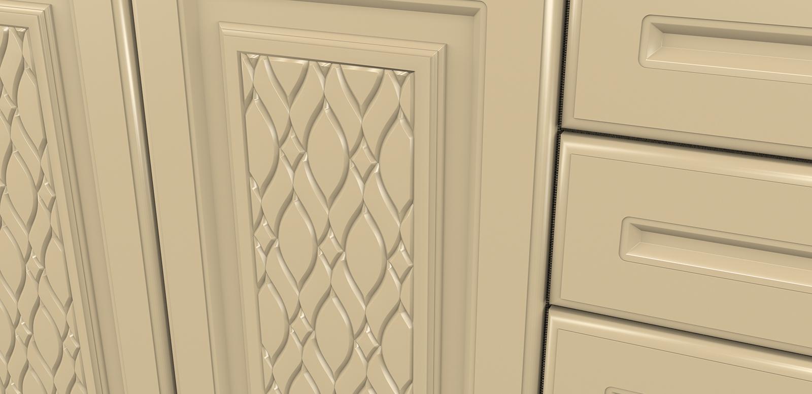 Fronturi MDF frezate - Colectia Pattern - SOFIA